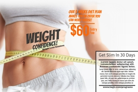 Customizable Design Templates for Weight Loss  PosterMyWall