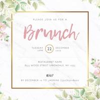 8 140 brunch invitation templates