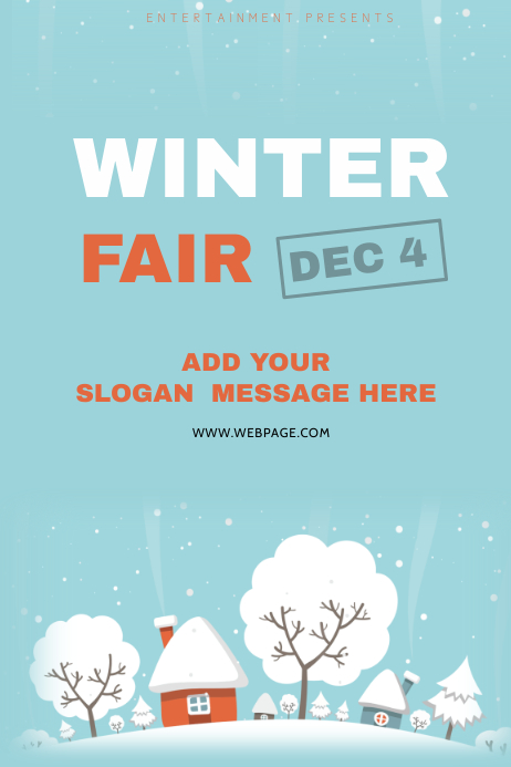 Customizable Design Templates for Winter Flyer Template | PosterMyWall