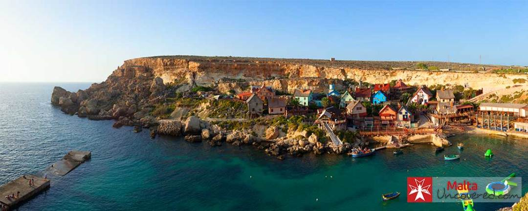 Popeye Village is a great outing for families with kids on holiday in Malta.
