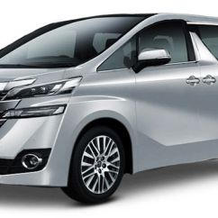 All New Toyota Vellfire 2017 Grand Veloz 1.5 Silver 2016 Colours Available In 4 Metallic