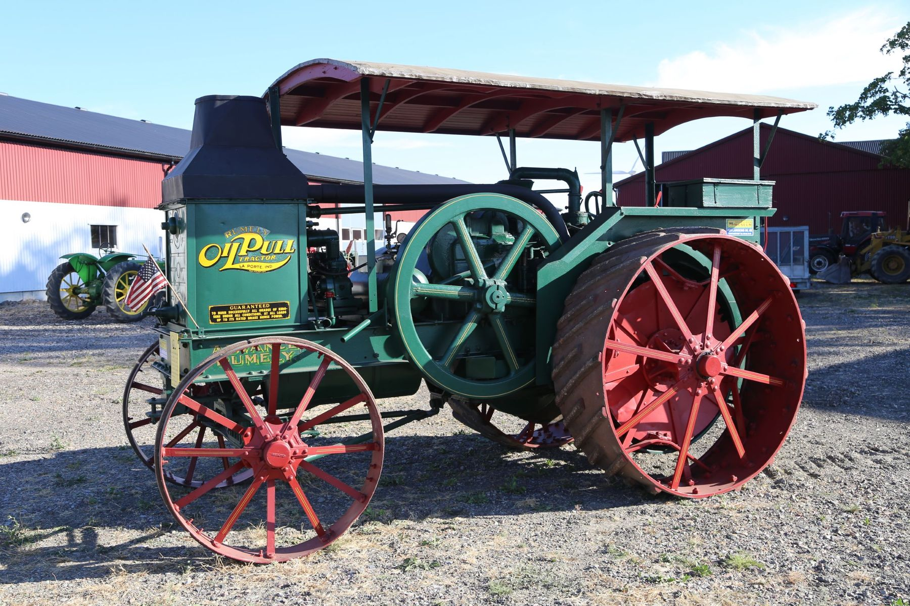 Advance Rumely Steam Engine For Sale