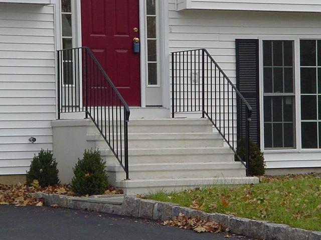 precast concrete steps concrete