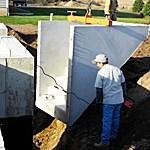 Mono Concrete Step Llc Basement Entrances Doors   Precast Concrete Basement Steps   Bilco Doors   Bilco   Basement Entrance   Concrete Wall   Concrete Products