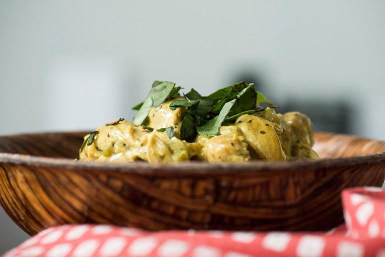 Basil Chicken Curry