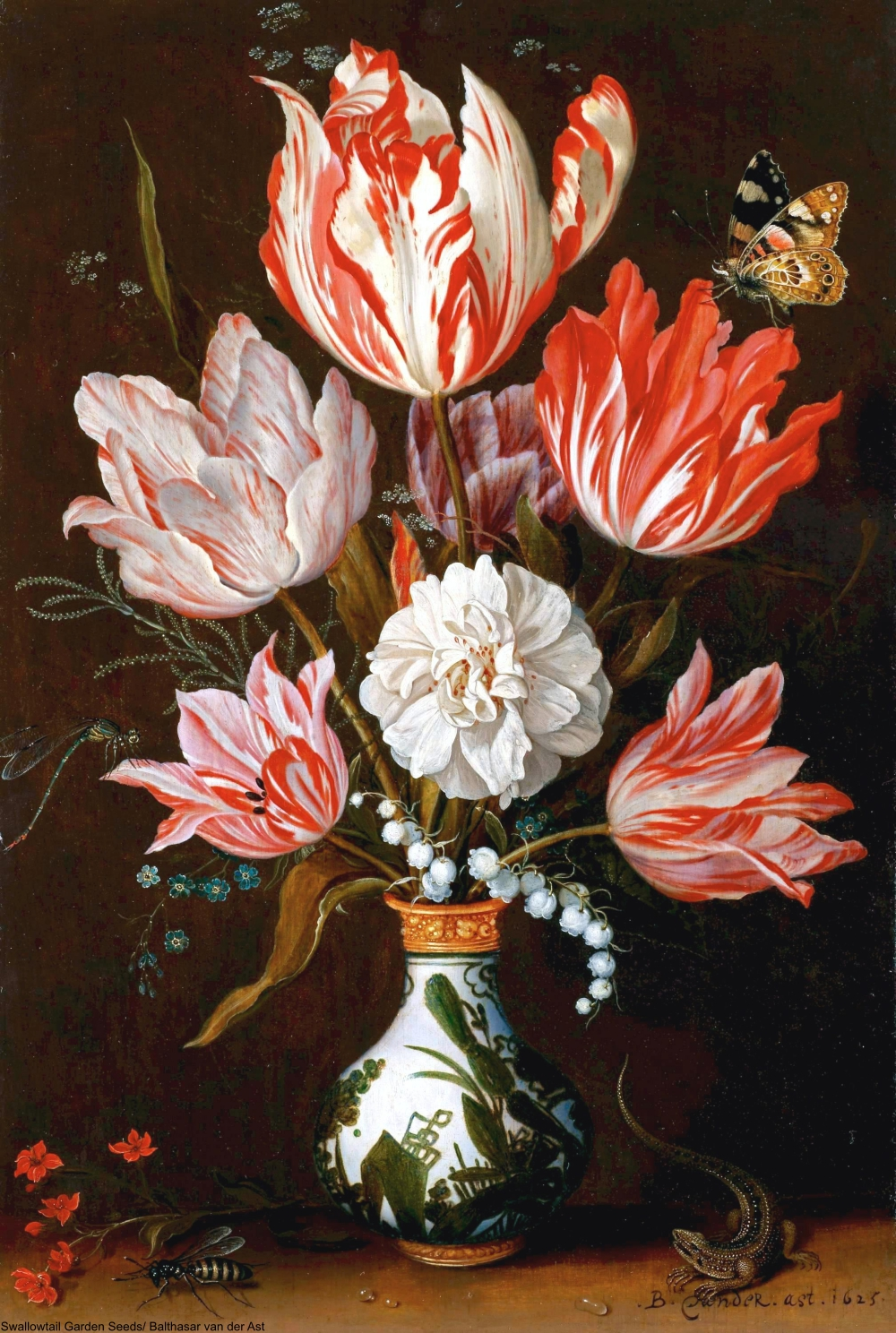 The Dutch Tulip Mania Known As Tulpenwoede That Devastated