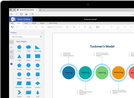 visio online by microsoft