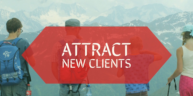 attract new clients meaning