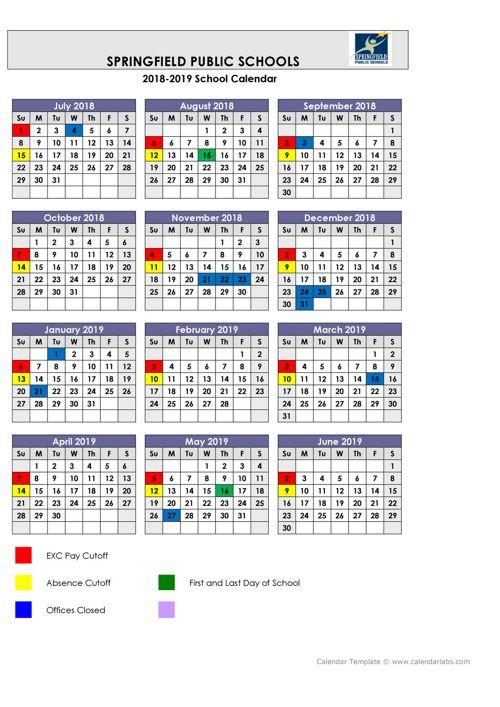 small calendar template