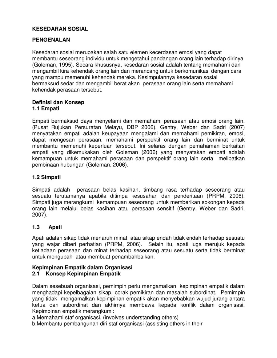 Nota Kesedaran Sosial by lizwan - Flipsnack