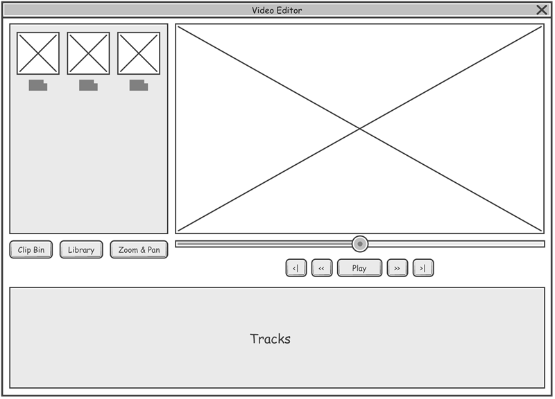 Desktop application example