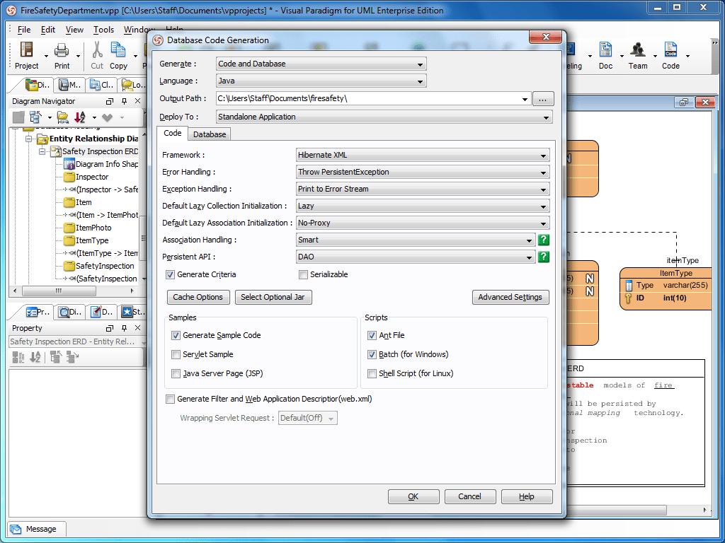 entity relationship diagram visual paradigm make your own venn free hibernate tool for database programming