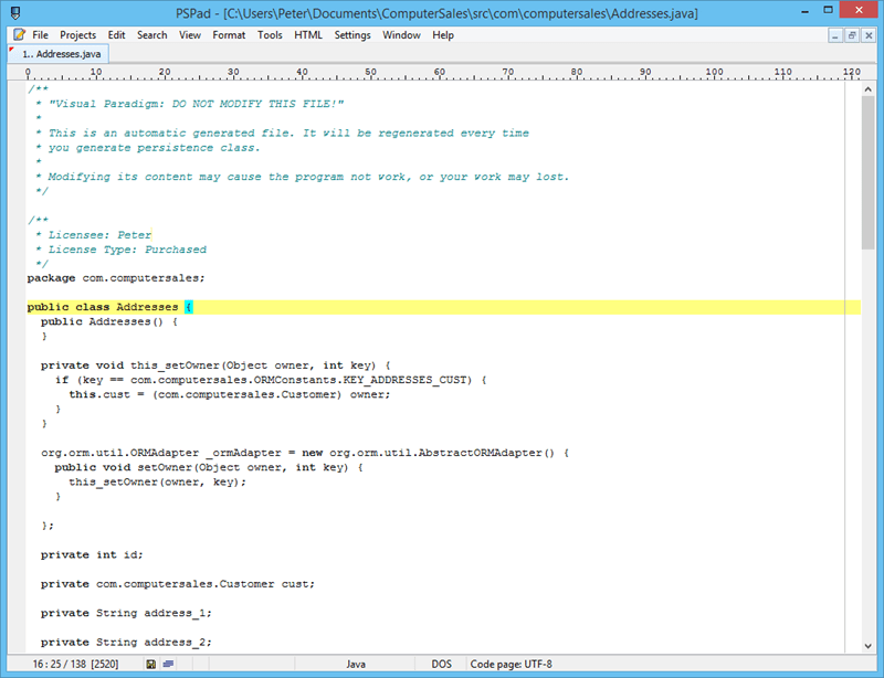 tool to generate class diagram from java code where is my stomach located hibernate mapping for oracle database