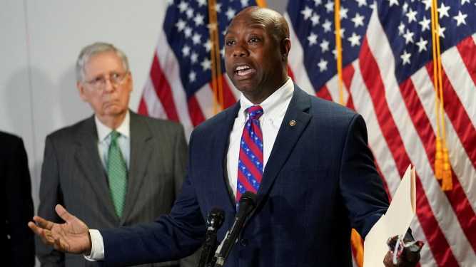 Tim Scott: conservative black voice on police reform | Financial Times