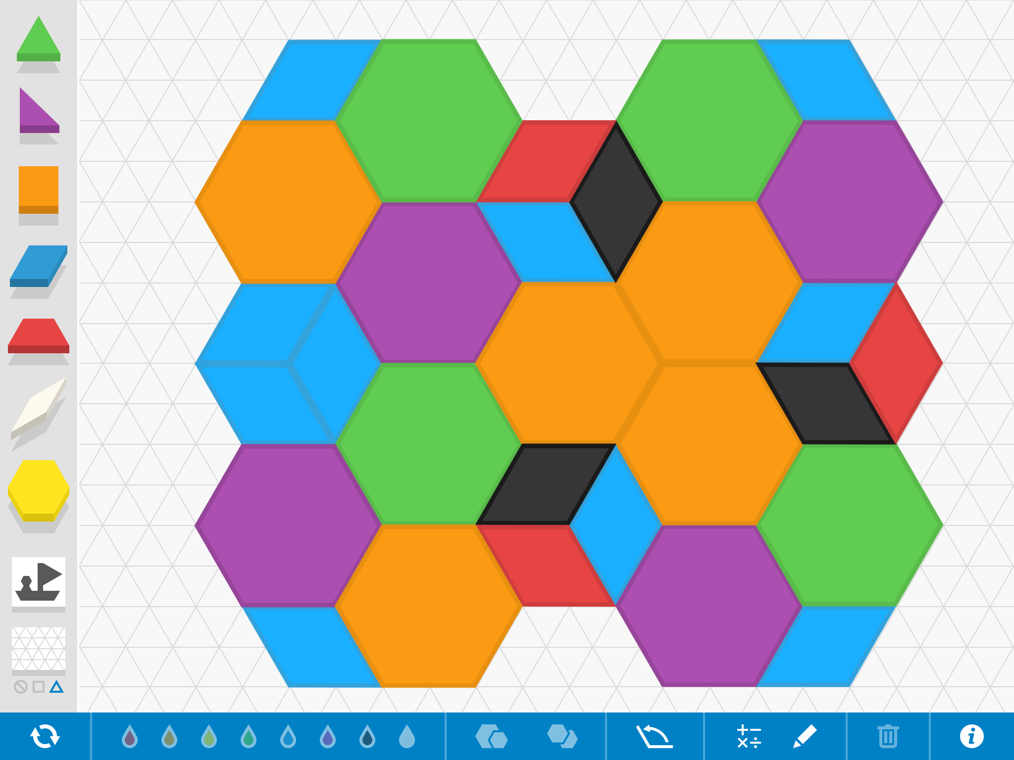 Pattern Shapes By The Math Learning Center Educator