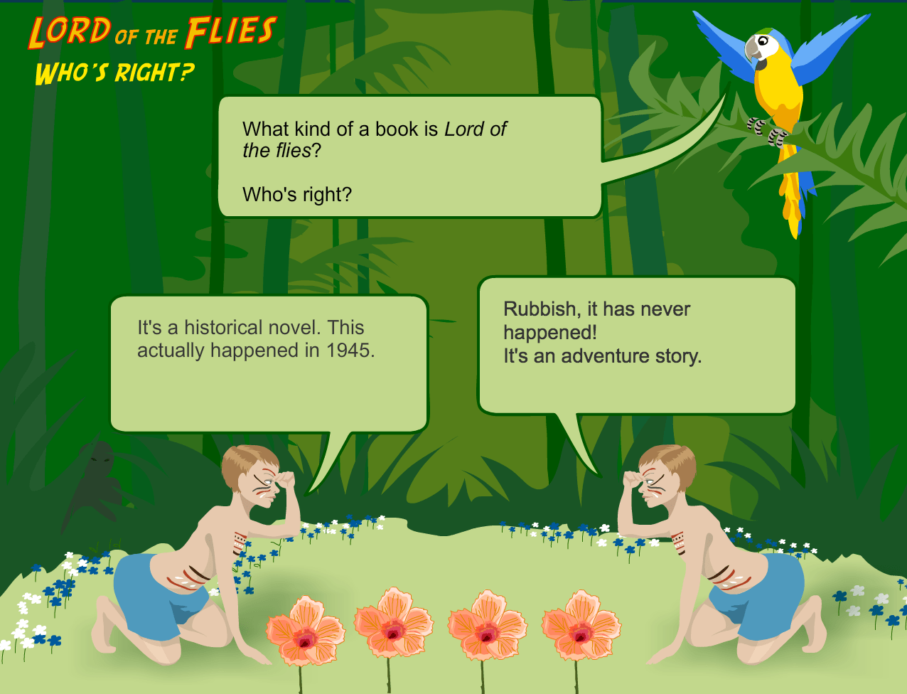 Lord Of The Flies Game Educator Review