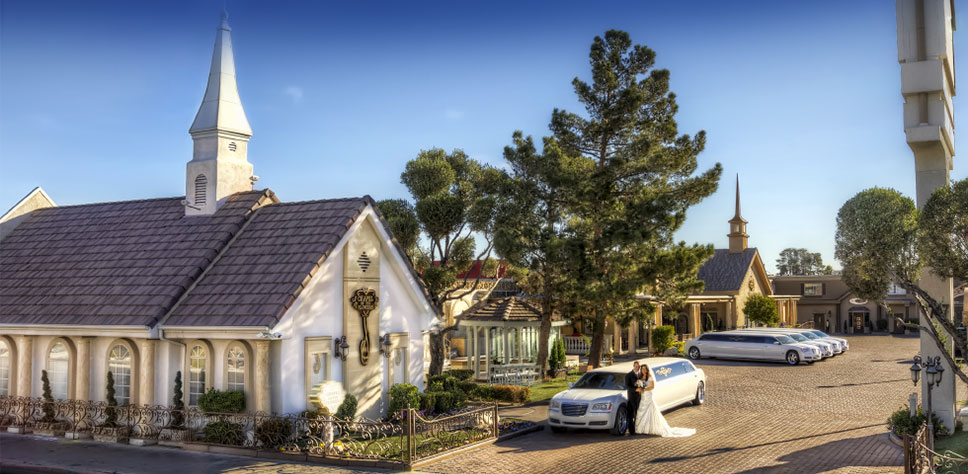 Las Vegas Wedding Chapels: Chapel Of The Flowers