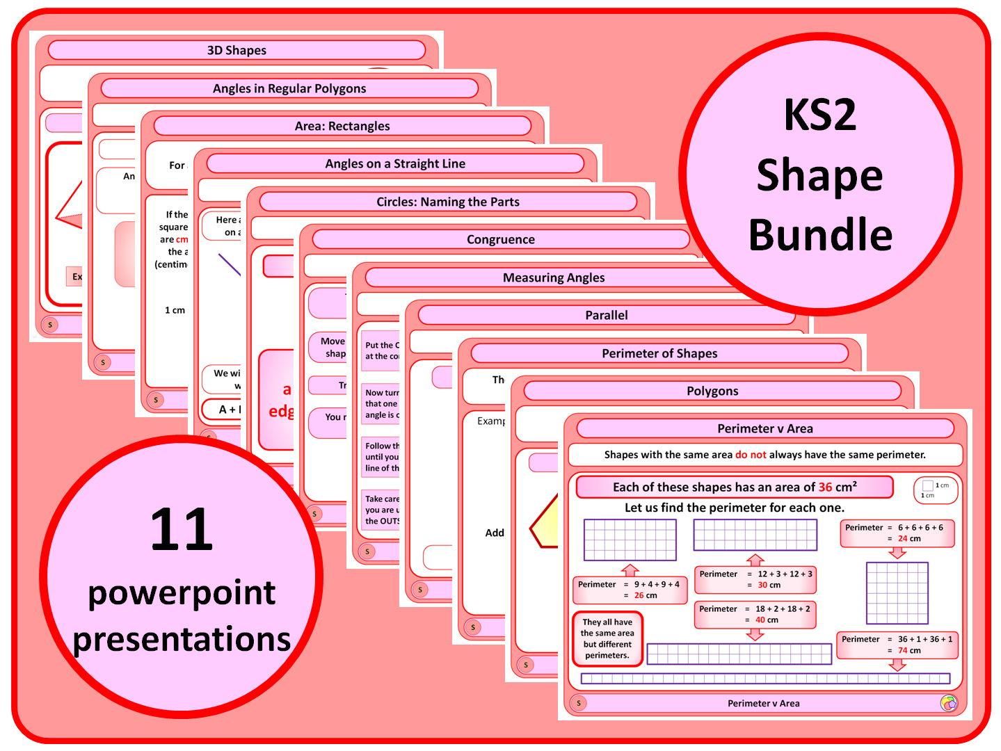 Ks2 Shape Bundle