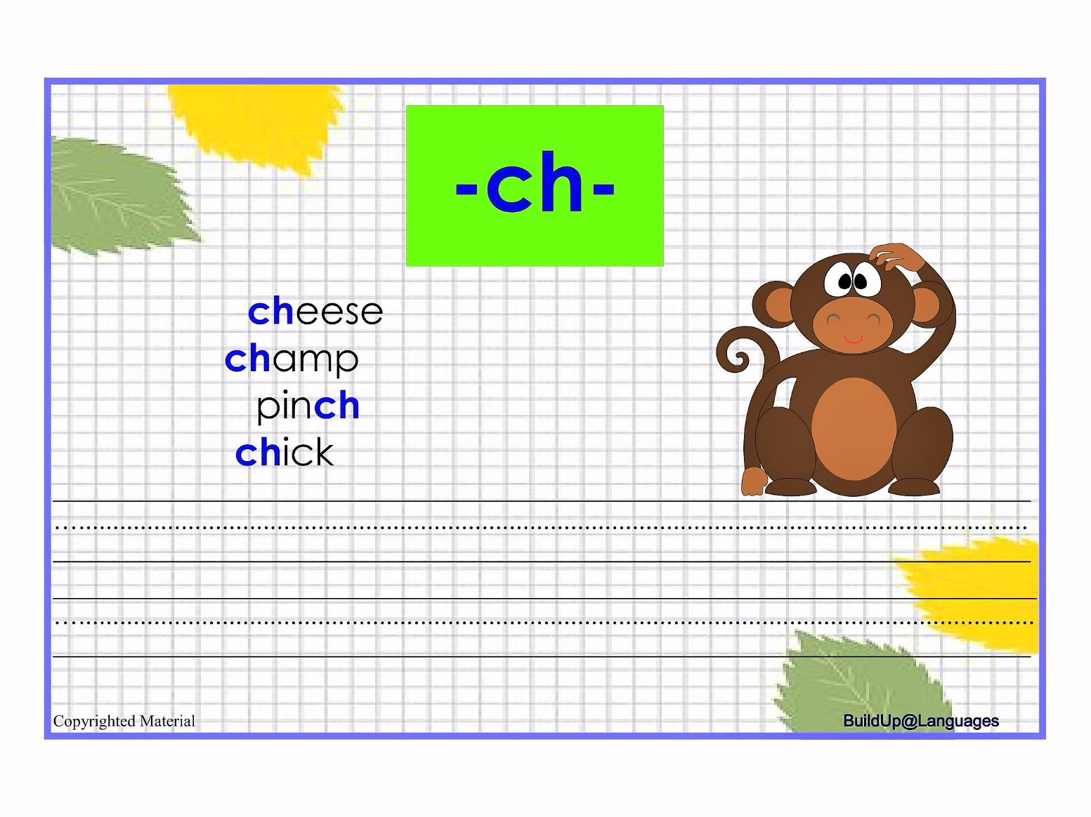 Th Ch Sh Wh Phonics By Planactivity