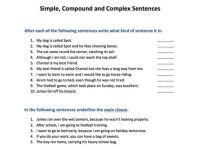 Simple, compound and complex sentences by SkillsMastery ...