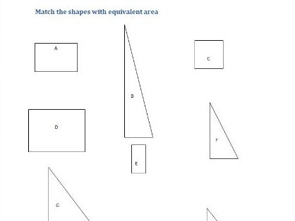 This worksheet is a starter to practise working out the