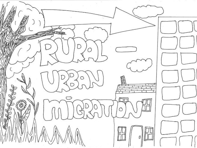 Rural-Urban Migration Revision Sheet for Geography