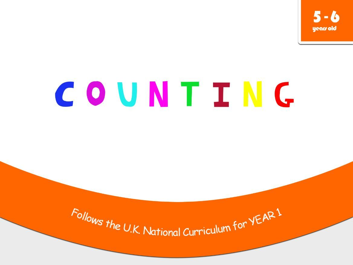 Counting Worksheets Year 1