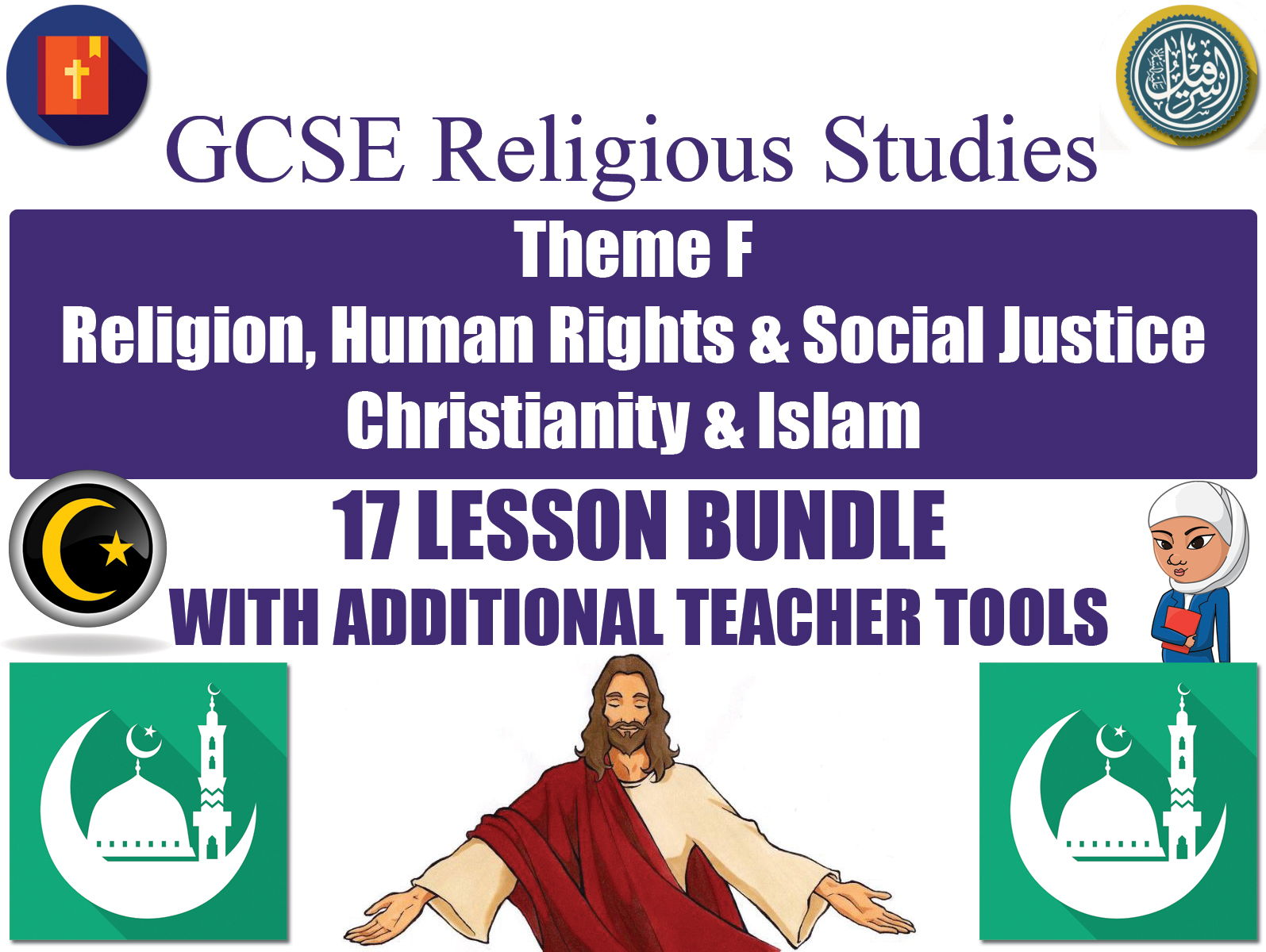 hight resolution of gcse islam christianity religion human rights social justice 17 lessons by godwin86 teaching resources tes