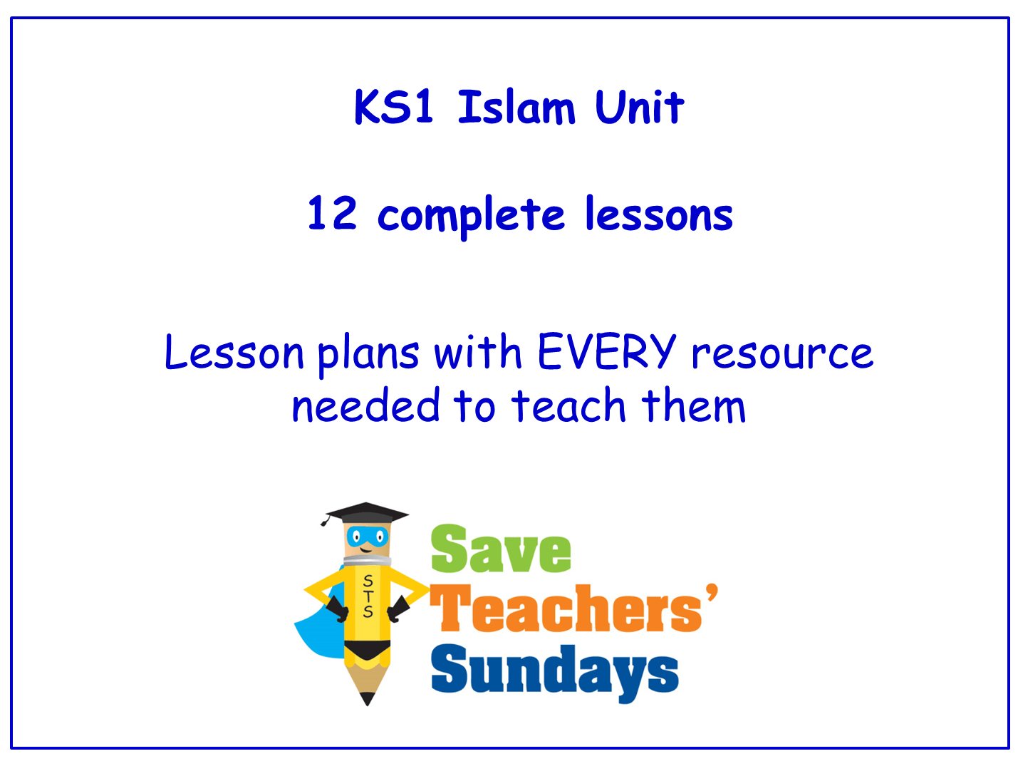 Islam Ks1 Planning And Resources By Saveteacherssundays