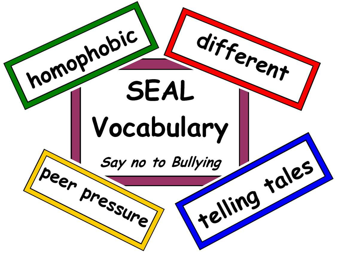 Seal Vocabulary Bundle By Resourcecentre