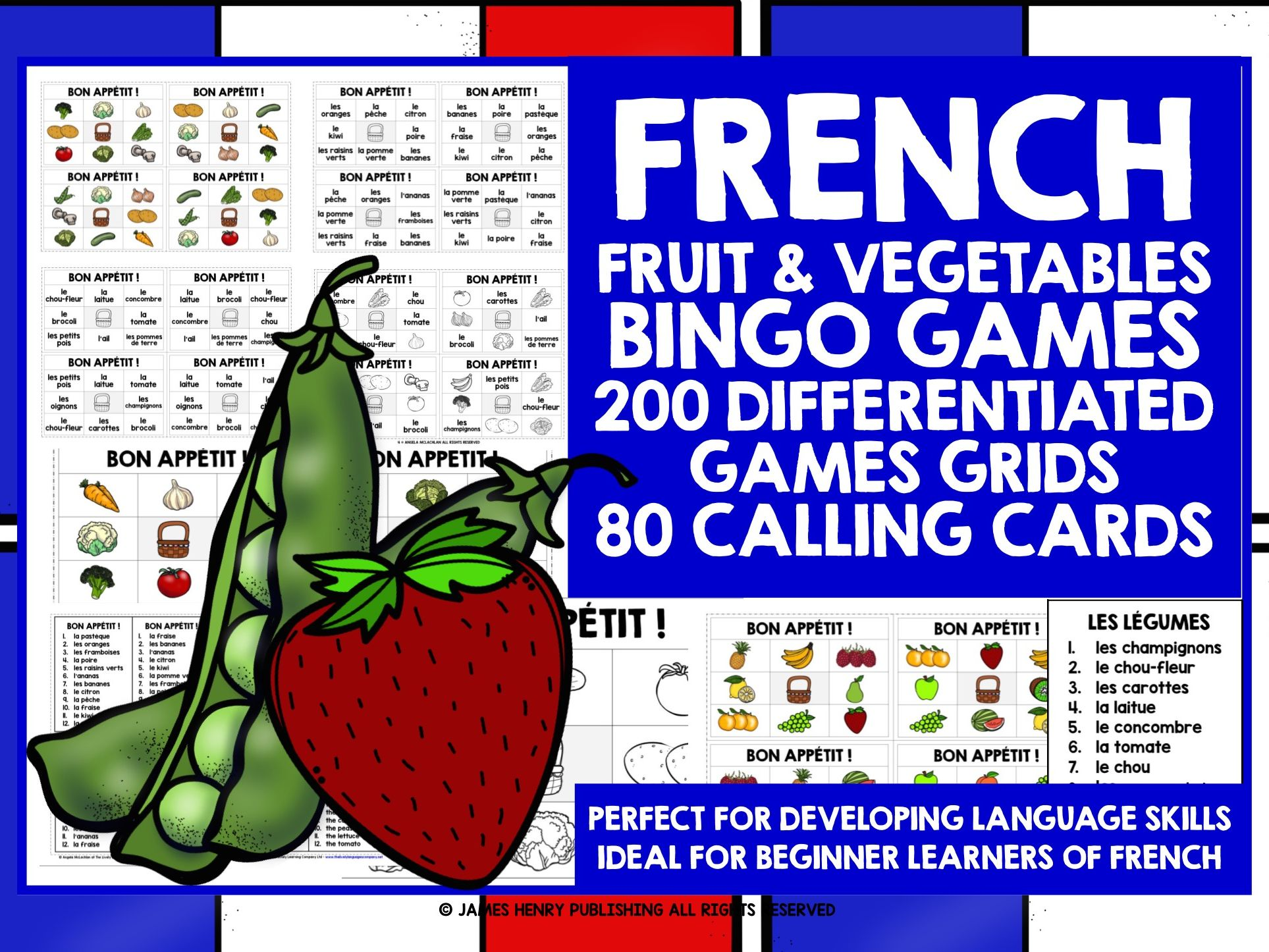 Primary French Resources Food And Drink