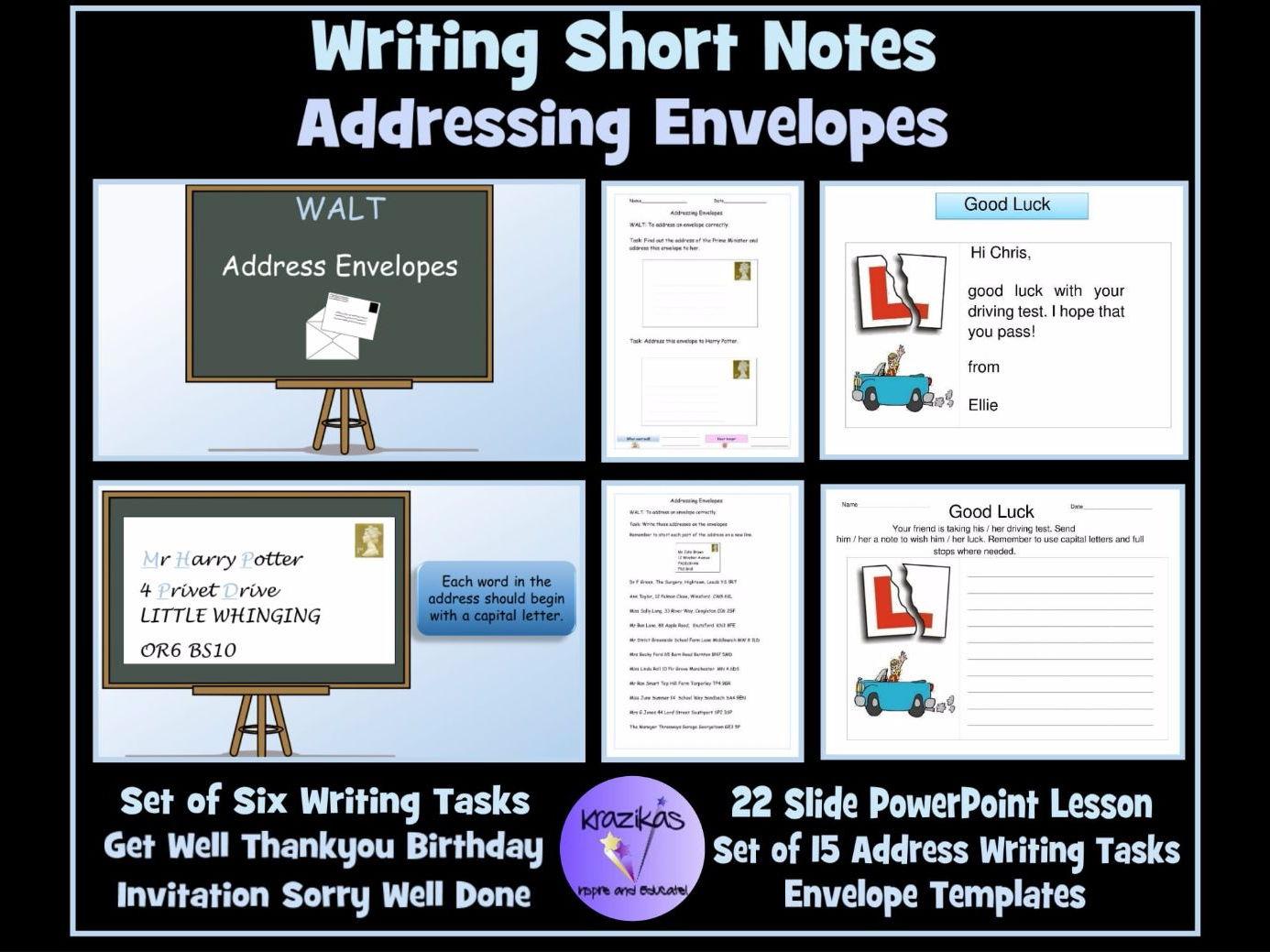 English Functional Skills Sen Resource Addressing