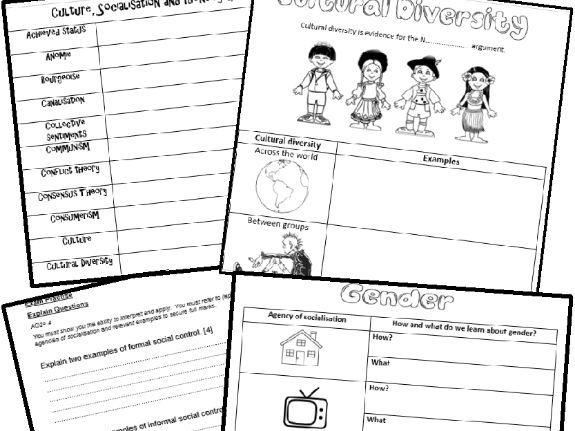 GCSE EDUQAS C1 Key Concepts Revision Booklet with exam