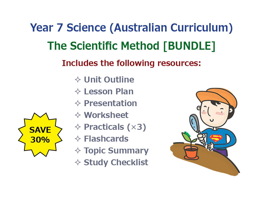 The Scientific Method Bundle By Goodscienceworksheets