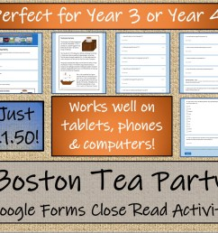 LKS2 Boston Tea Party Informational Writing \u0026 Reading Comprehension  Distance Learning Bundle   Teaching Resources [ 1151 x 1296 Pixel ]