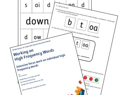 Special Educational Needs Resources: SEN Materials and