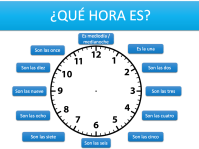 worksheet. Telling Time In Spanish Worksheets. Worksheet