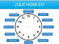 worksheet. Telling Time In Spanish Worksheets. Worksheet ...