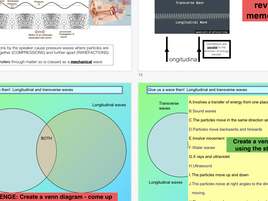 venn diagram of transverse and longitudinal waves stir plate wiring v ppt differentiated activities hots questions activity by shall81 teaching resources tes