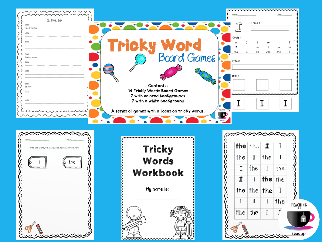 Teach Child How To Read Jolly Phonics Tricky Words