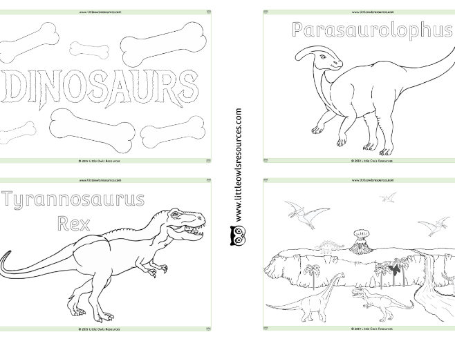 Early years dinosaurs resources