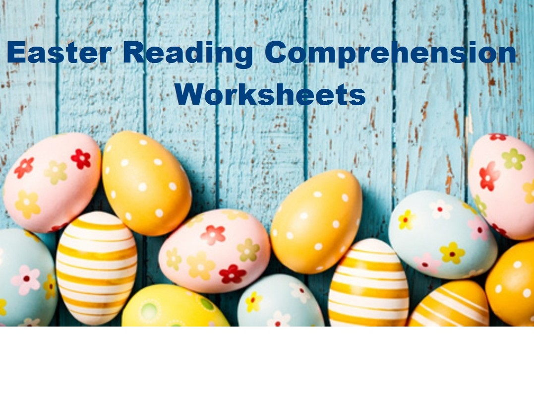 Easter Reading Comprehension Worksheets X 16 Save 80 By