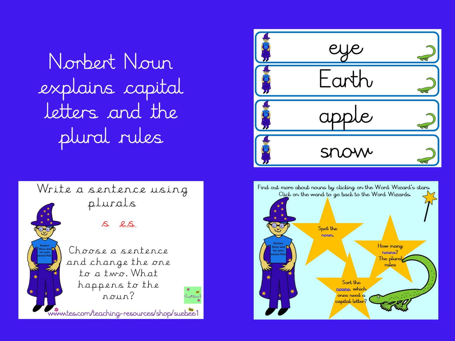 Spag Nouns Capital Letters Plural Rules And Noun