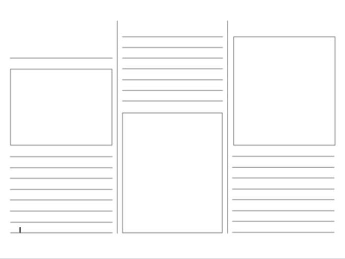 Leaflet Template By Jillyjones1987 Teaching Resources Tes