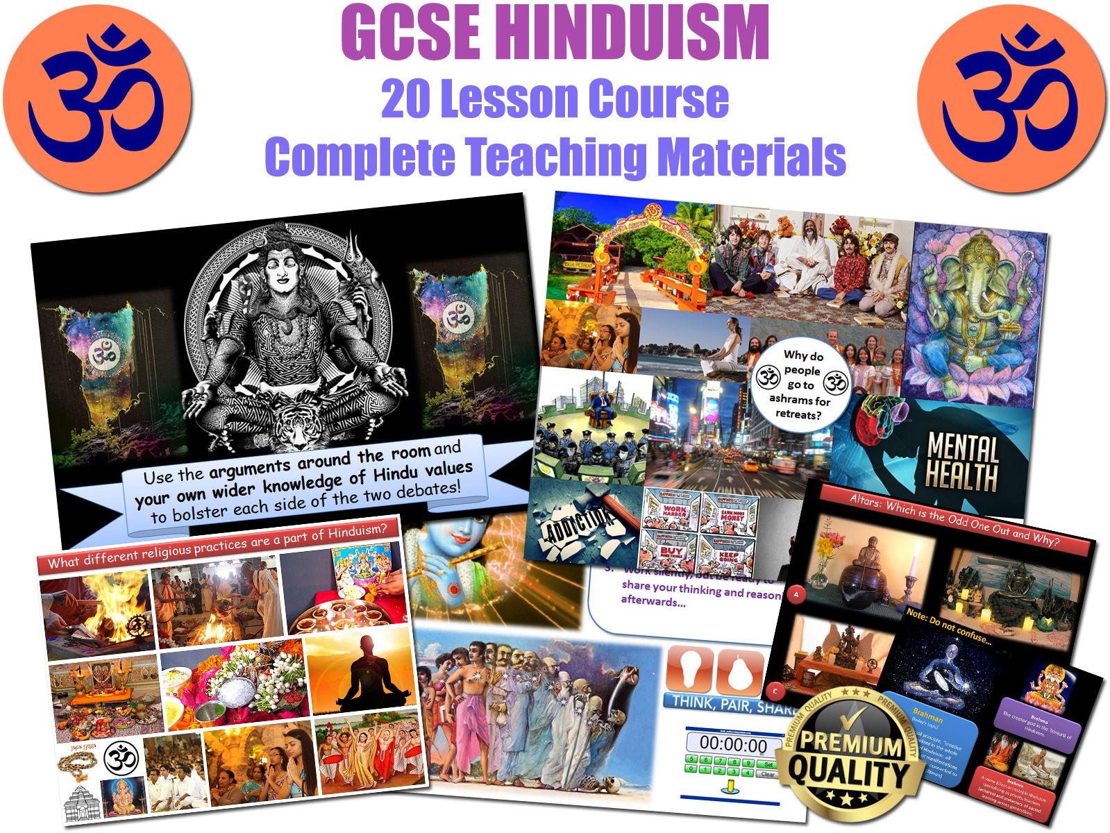 Hinduism 20 Lessons Gcse