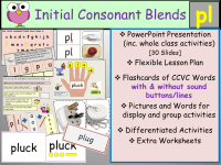 Printable Worksheets  Beginning Consonant Blends ...