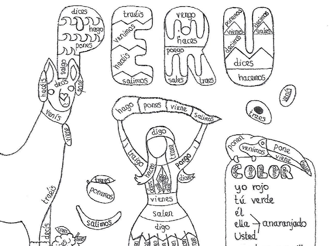 Spanish Yogo Verbs Bundle 2 Fun No Prep Worksheets