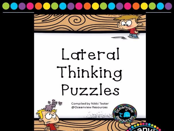 Lateral Thinking Puzzles | Teaching Resources