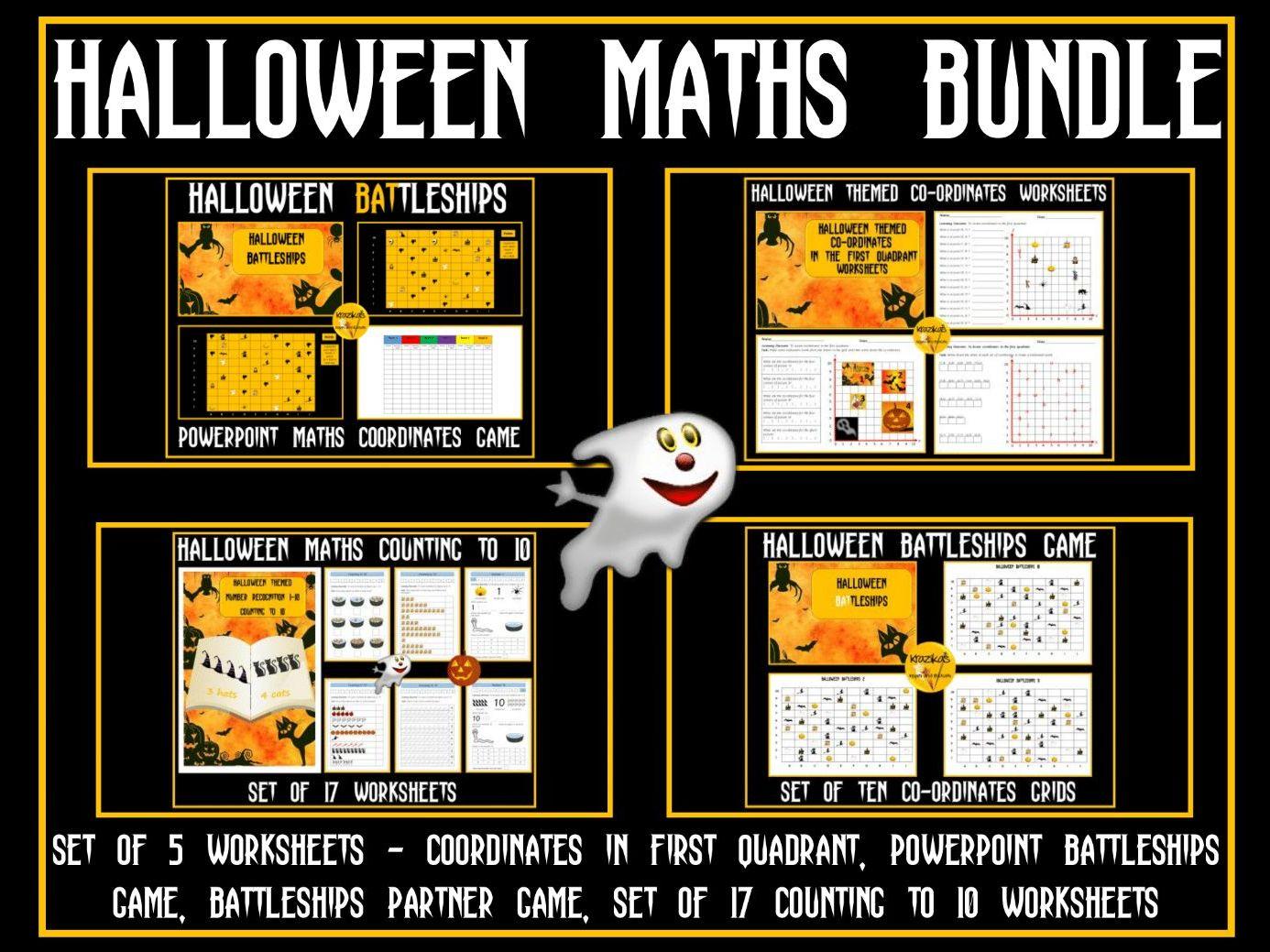 Halloween Maths By Krazikas