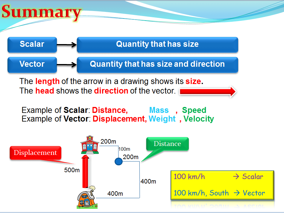 scalar and vector physics